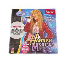 Disney Hanna Montana Encore Edition Mattel DVD Game Sealed New 2008 Vintage