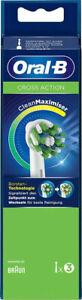 Oral-B CrossAction mit CleanMaximiser Aufsteckbürsten Weiß 3 Stück