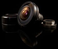 Fujinon 2.7mm f1.8 C-Mount Fisheye Lens — 185 Degree Angle of View — Good for VR