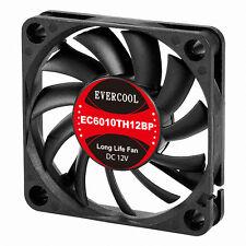 EVERCOOL EC6010TH12BP 60mm x 10mm, 2 Ball , 4 Pin PWM, Low noise