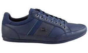LACOSTE CHAYMON 118 1 CAM NVY/GRN  Herren EXCLUSVIE Sneaker LEDER Schuhe