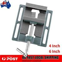 4'' / 6'' Drill Press Vice Bench Vise Clamp Milling Machine Maintenance Tool AU