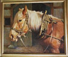 """Bernd Funke *1902 Essen Pferdeportrait """"Haflinger, das hübsche Freizeit-Pferd"""""""