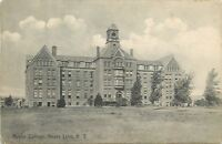 Keuka Lake New York~Main Building & Grounds of Keuka College~1909 Postcard