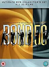 James Bond 50 Collection    22-Disc  Box Set        New     Fast  Shipping