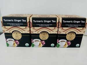 Buddha Teas Turmeric Ginger Tea 18 Bags (3 boxes)