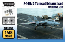 Wolfpack WP48221, F-14B/D Tomcat Exhuast set (for Tamiya 1/48) , SCALE 1/48