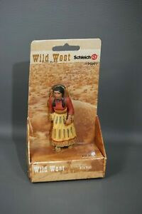 Schleich Wild West Sioux Indian Mutter 70307 Native American Mother Baby Papoose