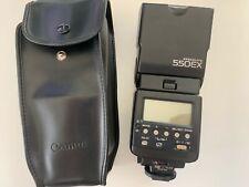 Canon Speedlite 550EX Shoe Mount Flash for  Canon