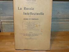 Louis Léger La Russie intellectuelle Etudes et portraits