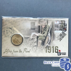 2016 $1 LETTERS FROM THE FRONT CENTENARY OF WWI PNC