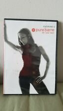 New Sealed - pure barre Flatirons: 2 workout Dvd - Lift - Tone - Burn