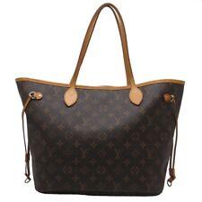 Auth Louis Vuitton Monogram Canvas Neverfull Tote Bag Handbag M40156 Dh48898