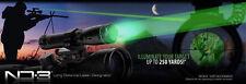 Stock BSA Long Distance Laser Genetics ND3 x30 Green Laser Designator w/ Mounts