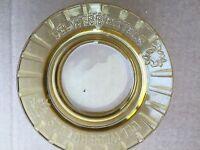 Vintage Del Webb  Glass  Ashtray
