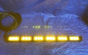 WHELEN DOMINATOR TAM63 TRAFFIC ADVISOR TIR3 SUPER LED LIGHTBAR MSRP $719 🚧