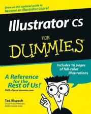 Illustrator cs for Dummies by Ted Alspach (2003, Paperback)