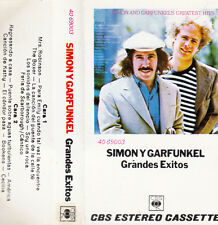 "K 7 AUDIO (TAPE)  SIMON Y GARFUNKEL  ""GRANDES EXITOS"" (MADE IN SPAIN)"