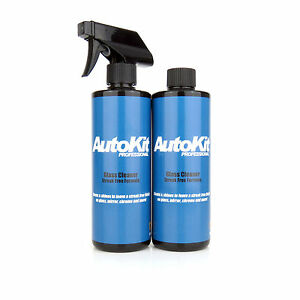 AutoKit Glass Cleaner Car Window Detailing Alcohol Streak Smear Free 1000ml