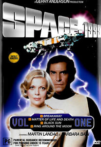 Space: 1999 Volume 1 Episode 1-4 - Rare DVD Aus Stock -Excellent