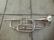 Besson & Co 'British Throughout' Class A New Creation Silver Trumpet