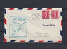 CANAL ZONE 1929, AirMail cover to Miami, Florida, Used