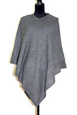 Ladies 100% Cashmere Poncho Pashmina Cardigan Cape Wrap Shawl Sweater One Size