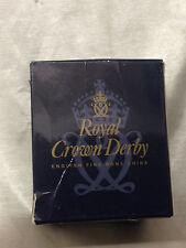 ROYAL CROWN DERBY IMARI PAPERWEIGHT COLLECTION ORIGINAL BOX ONLY SLEEPING KITTEN