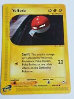 Voltorb 115/147 - Aquapolis Set - Pokemon Trading Card - Non Holo