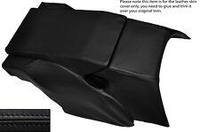NERO CUCITURA POSTERIORE CENTRO console cuoio pelle copertura si adatta Porsche 928 S S2 S4