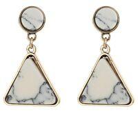 1 Pair Elegant White Crystal Rhinestone  Ear Drop Dangle Stud long Earrings 141