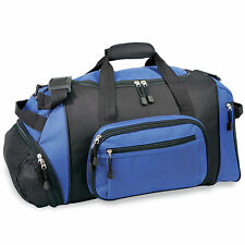 """GP 20"""" Lightweight Blue Dual Sport & Travel Carry-On Gym Duffel with Cooler Bag"""