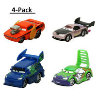 4-Pack Mattel Disney Pixar Cars Boost DJ Wingo Snot Rod 1:55 Diecast Toy Loose