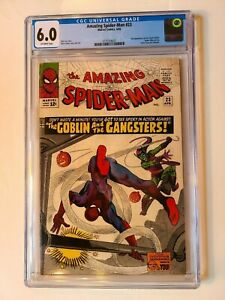 THE AMAZING SPIDER-MAN # 23 MARVEL 1965 CGC 6.0 3rd GREEN GOBLIN APPEARANCE