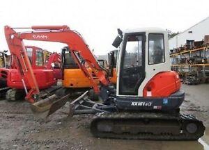 Kubota Excavator / Mini Digger - Workshop Manuals - Many Many Models!!!