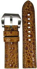 24mm RIOS1931 for Panatime Golden Toad Watch Strap 24x22