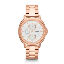 Fossil Women's Chelsey Multifunction Stainless Steel Watch - Rose ES3353