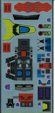 TRANSFORMERS GENERATION 1, G1 DECEPTICON PARTS TERRORCON REPRO LABELS