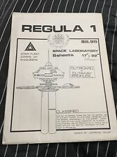VINTAGE ORIGINAL STAR TREK FLEET Space Laboratory BLUEPRINTS Set Of 5 New