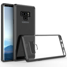 Samsung Galaxy Note 9 Black Shockproof Transparent 360 Full Protector Case Cover