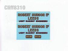 Hornby O Gauge Side Tipping Wagons | Robert Hudson | Waterslide Transfer/Decal