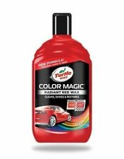 Radiant Red New Formula Of Turtle Wax Color Magic Polish Wash  Car Paint