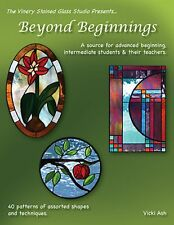 Stained Glass Pattern Book - Beyond Beginninsgs 40 Patterns