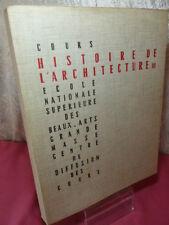 HISTOIRE DE L ' ARCHITECTURE 116 planches