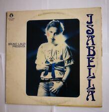 ISABELLA ( BRUNO LAUZI PRESENTA ) -   LP   N° UNO  ITALY 1973  PROMO  FIRST  NEW