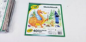 (6) Crayola Sketchbook 2012 40 Pages EACH (BRAND NEW)