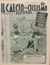 IL CALCIO ILLUSTRATO N 39 1957BOLOGNA FIORENTINA - SARTI MASCHIO - JUVE GENOA