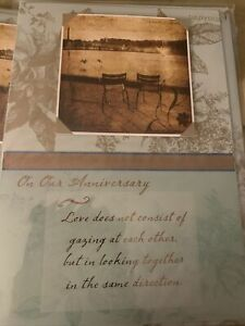 Papyrus Greeting Card - Anniversary For Spouse. New