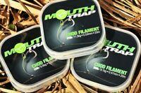 NEW Korda Mouth Trap Chod Filament 20m All Breaking Strains - Carp Fishing