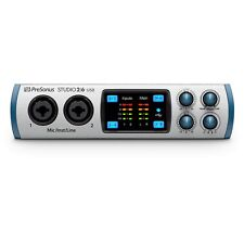 PreSonus Studio 26 2x4 192 kHz USB Audio Recording MIDI Mac Windows Interface